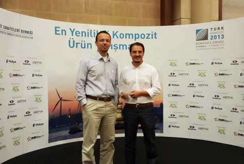 Prize Best composite Istanbul 2013