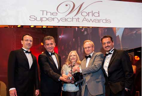 World superyacht awards 2014 Amsterdam